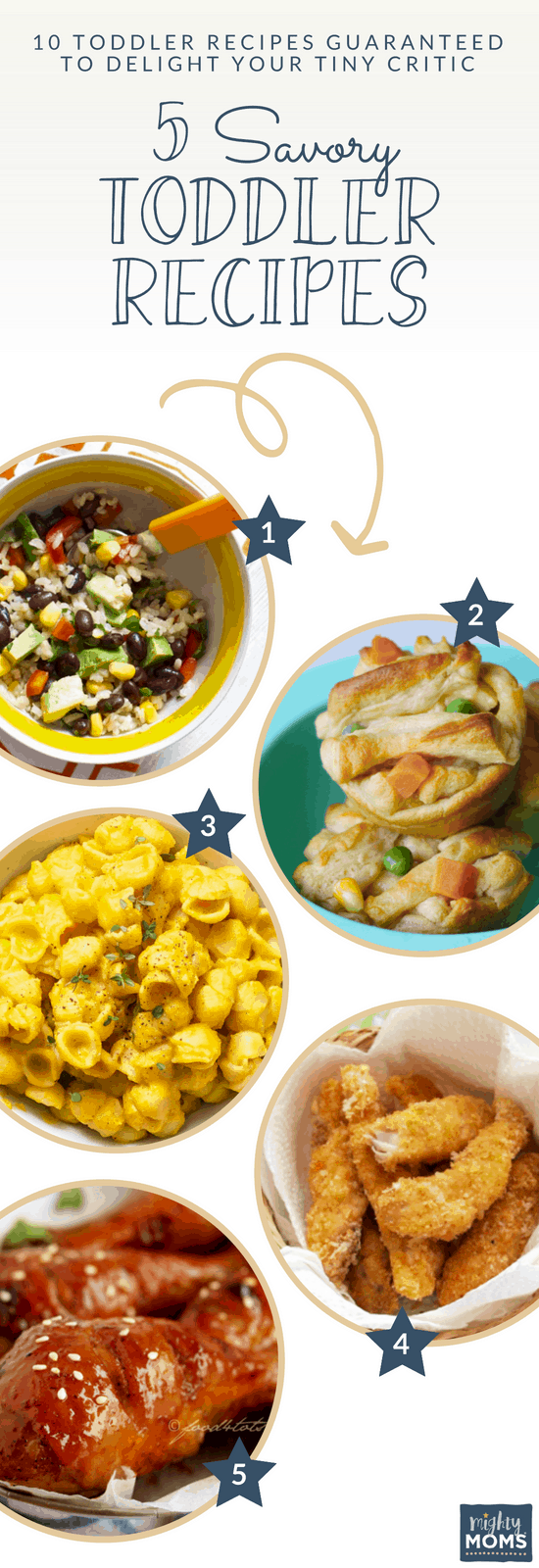 5 Yummy Toddler Recipes for Lunch - MightyMoms.club