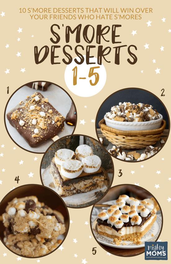 Delicious S'more Desserts (No. 1-5) - MightyMoms.club