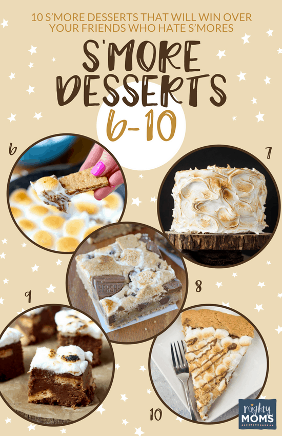 Delicious S'more Desserts (No. 6-10) - MightyMoms.club