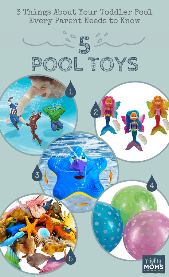 Pool Toys Your Toddler Will Love