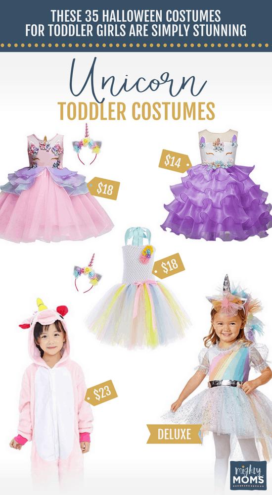Unicorn Halloween Toddler Costumes - MightyMoms.club