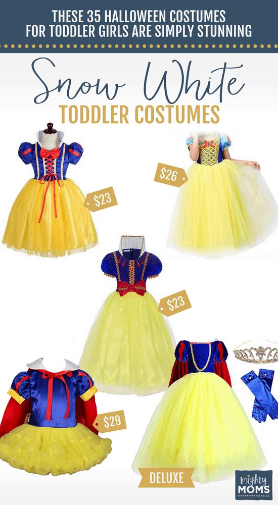 Snow White Halloween Toddler Costumes - MightyMoms.club