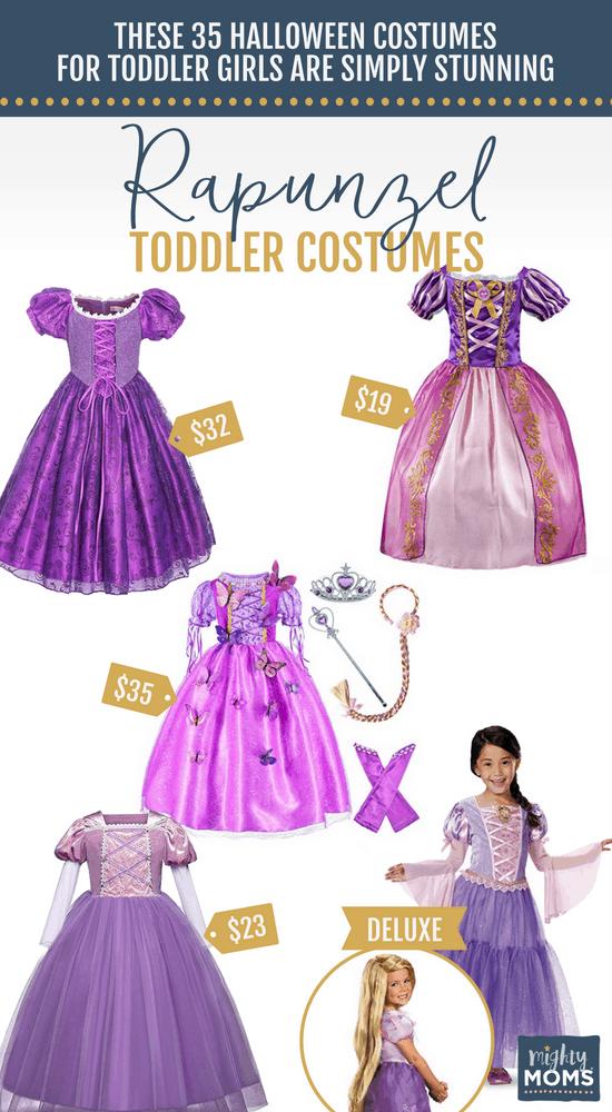 Rapunzel Halloween Toddler Costumes - MightyMoms.club