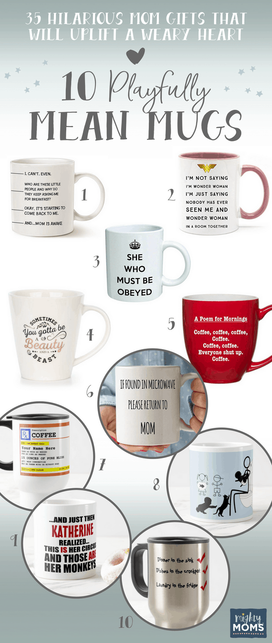 10 Mean Mug Mom Gifts - MightyMoms.club