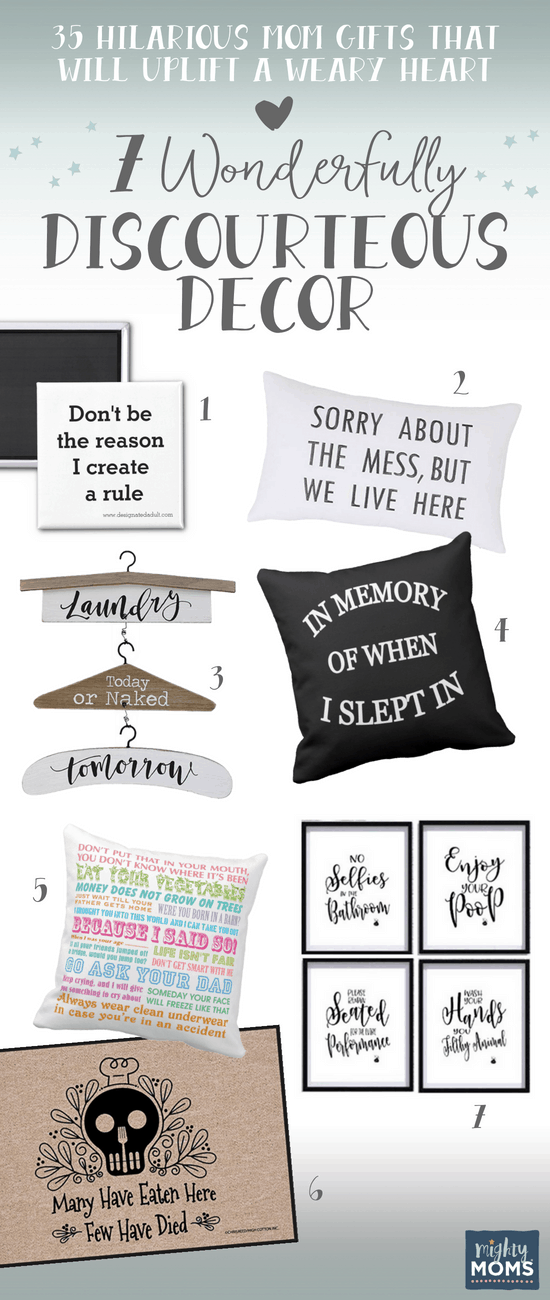 Clever Home Decor as Mom Gifts - MightyMoms.club