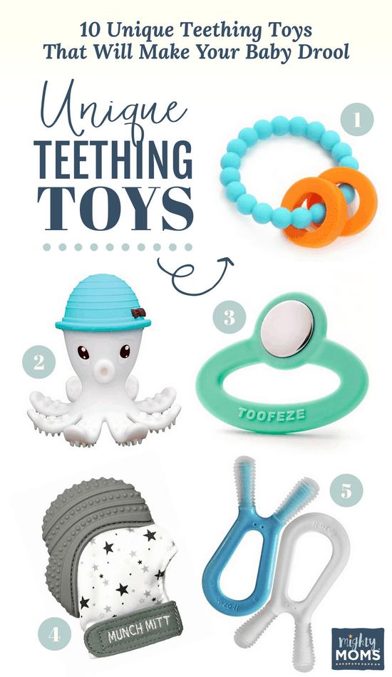 Unique Teething Toys #1-5 ~ MightyMoms.club