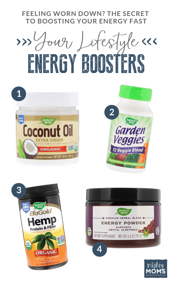Health Boosters are Energy Boosters! - MightyMoms.club
