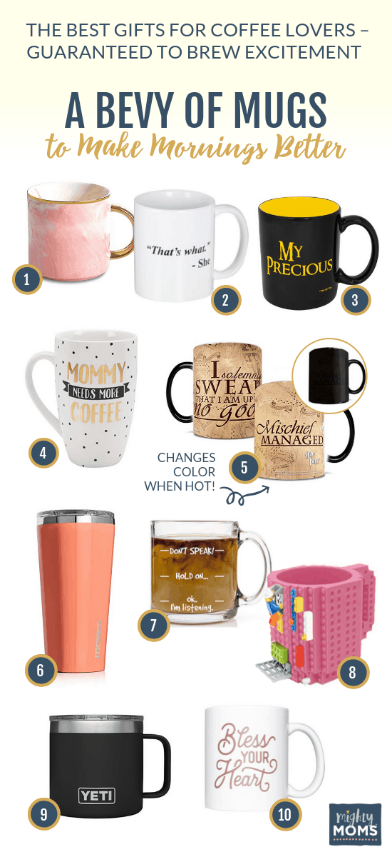 Need coffee gifts? Pick a smile-stealing mug! MightyMoms.club