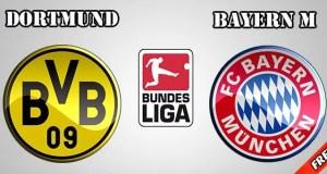 Borussia Dortmund vs Bayern Munich Prediction