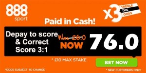 Manchester United vs Tottenham Bet