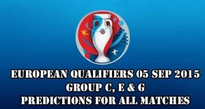 EURO 2016 Qualifiers Predictions and Betting Tips 05.09.2015.