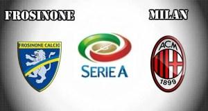 Frosinone vs Milan Prediction and Betting Tips