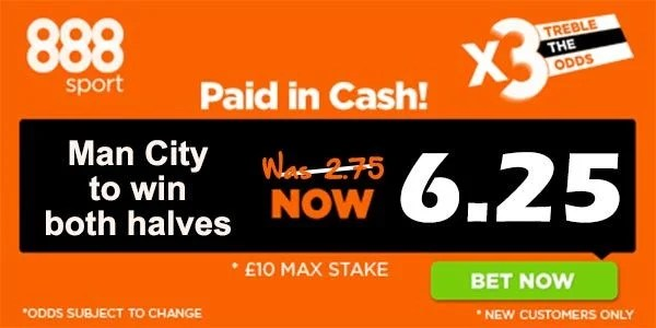 Manchester City vs Hull Bet