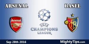 Arsenal vs Basel Prediction and Betting Tips