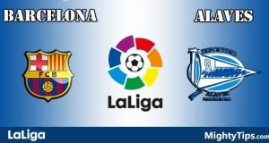 Barcelona vs Alaves Prediction and Betting Tips