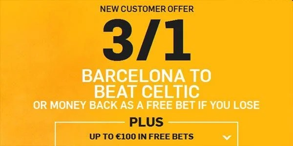 Barcelona vs Celtic Prediction and Bet