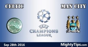 Celtic vs Man City Prediction and Betting Tips