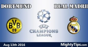 Dortmund vs Real Madrid Prediction and Betting Tips
