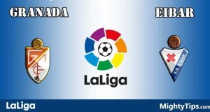 Granada vs Eibar Prediction and Betting Tips