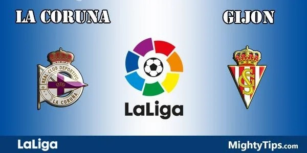 La Coruna vs Gijon Prediction and Betting Tips