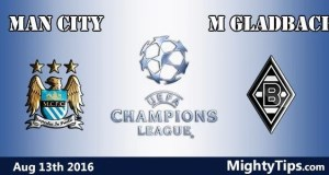 Man City vs Monchengladbach Prediction and Betting Tips