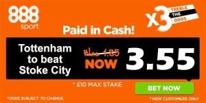Stoke vs Tottenham Prediction and Bet