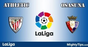 Athletic vs Osasuna Prediction and Betting Tips