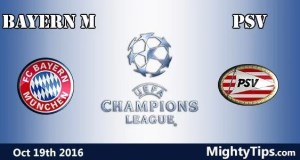 Bayern vs PSV Prediction and Betting Tips