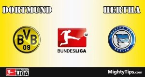 Dortmund vs Hertha Prediction and Betting Tips
