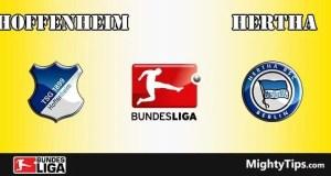 Hoffenheim vs Hertha Prediction and Betting Tips