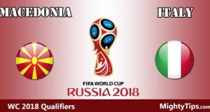 Macedonia vs Italy Prediction and Betting Tips