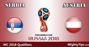 Serbia vs Austria Prediction and Betting Tips