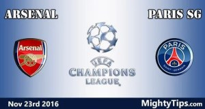 Arsenal vs PSG Prediction and Betting Tips