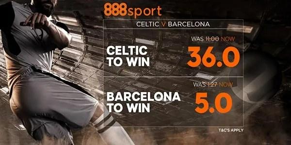 Celtic vs Barcelona Prediction and Bet