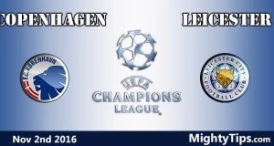 Copenhagen vs Leicester Prediction and Betting Tips
