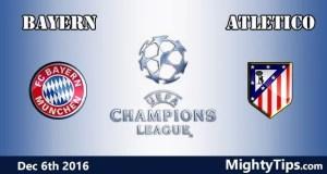 Bayern vs Atletico Prediction and Betting Tips