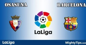 Osasuna vs Barcelona Prediction and Betting Tips