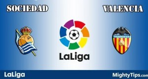 Sociedad vs Valencia Prediction and Betting Tips