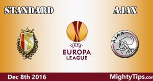 Standard vs Ajax Prediction and Betting Tips