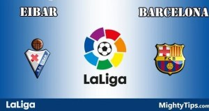 Eibar vs Barcelona Prediction and Betting Tips