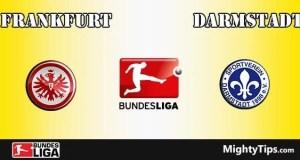 Frankfurt vs Darmstadt Prediction and Betting Tips