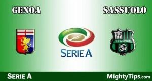 Genoa vs Sassuolo Prediction and Betting Tips