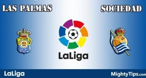Las Palmas vs Sociedad Prediction and Betting Tips