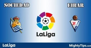 Sociedad vs Eibar Prediction and Betting Tips