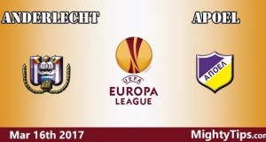Anderlecht vs APOEL Prediction and Betting Tips