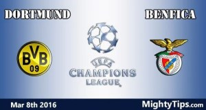 Dortmund vs Benfica Prediction and Betting Tips