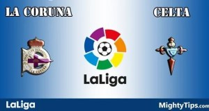 La Coruna vs Celta Prediction and Betting Tips