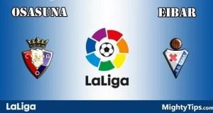 Osasuna vs Eibar Prediction and Betting Tips
