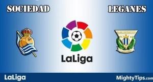 Sociedad vs Leganes Prediction and Betting Tips
