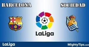 Barcelona vs Sociedad Prediction and Betting Tips